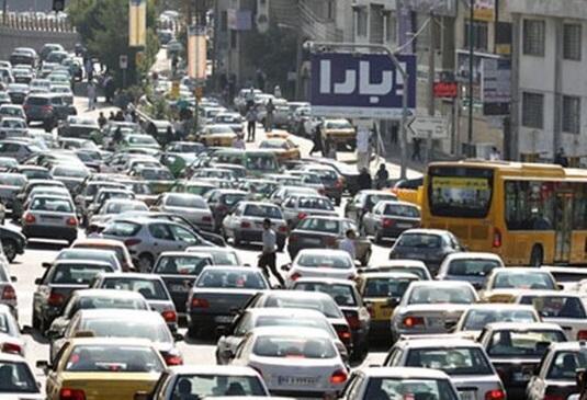 شرایط ترافیکی معابر پایتخت در آخرین روز دی ماه